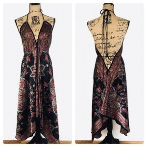 Dresses & Skirts - Semalti's Scarf Halter Style Resort Dress